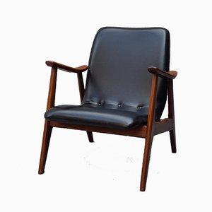 Vintage Armlehnstuhl von Louis van Teeffelen für WéBé