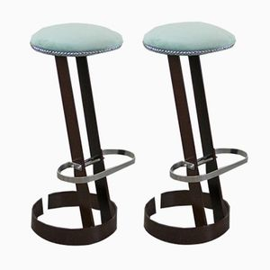 Vintage Spanish Bar Stools, Set of 2