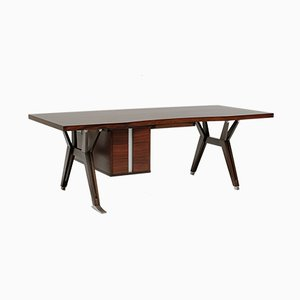 Vintage Terni Executive Desk by Ico Parisi for MIM