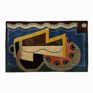 Indischer vintage Teppich von Shyam Ahuja, 1989