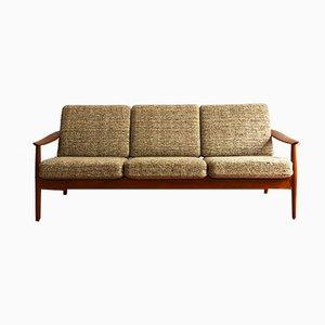 Mid-Century Modern Teak Sofa von Arne Vodder für France & Son