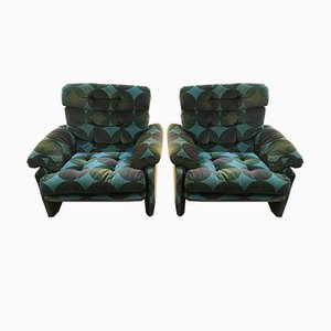 Armchairs by Tobia & Afra Scarpa for B&B/C&B Italia, 1970s, Set of 2