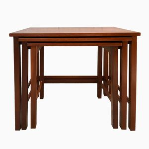 Vintage British Nesting Tables