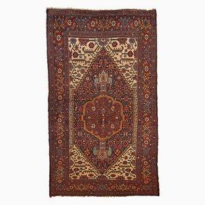 Antiker handgeknüpfter persischer Bidjar Teppich, 1880er