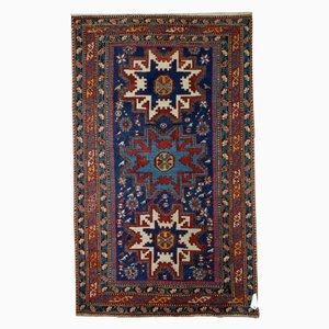 Antiker handgeknüpfter Kaukasischer Lezgi Teppich, 1880er