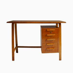 Scrivania vintage in legno curvo di Gordon Russell, anni '50
