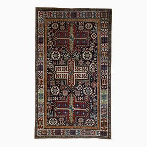 Antique Handmade Caucasian Akstafa Rug, 1890s