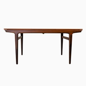 Vintage Extendable Teak Dining Table by Johannes Andersen for Uldum Møbelfabrik