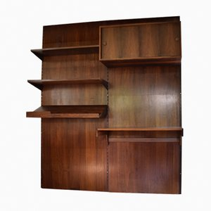 Rosewood Wall Unit by Kai Kristiansen for Feldballes Møbelfabrik, 1960s