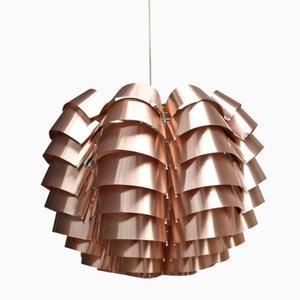 Orion Pendant Lamp with Copper Finish by Max Sauze for Max Sauze Studio, 1970s
