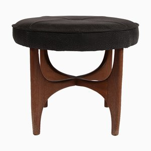 Vintage Leather Stool from G-Plan