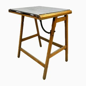 Vintage Industrial Drawing Table
