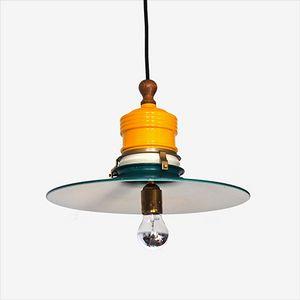 Mid-Century Danish Industrial Pendant Lamp