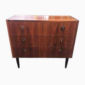 Danish Rosewood 3-Drawer Chest, 1960s