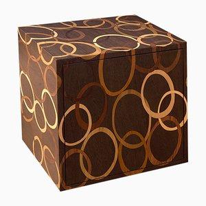 Holz Cubo Nachttisch von Francesca Mondini für Framondi, 2017