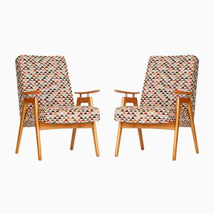Armchairs by J. Smidek for Jinota, 1960s, Set of 2