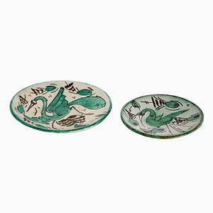 Wall Plates from Domingo Punter e Hijos, 1950s, Set of 2