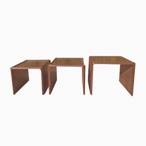 Nesting Tables by Peter Ghyczy for Horn Collection, 1970s