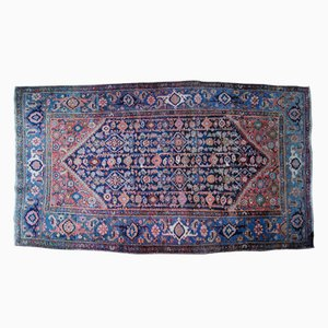 Antique Persian Faraghan Handmade Rug, 1880s