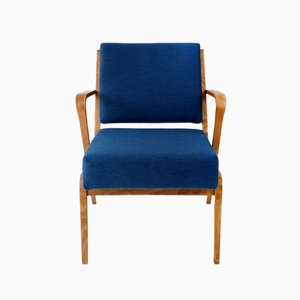 Mid-Century German Armchair by Selman Selmanagic for VEB Deutsche Werkstätten Hellerau