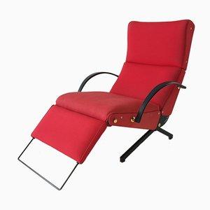 P40 Adjustable Lounge Chair by Osvaldo Borsani for Tecno, 1960s