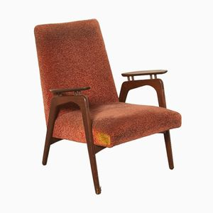Vintage Dutch Armchair from Louis van Teeffelen, 1950s