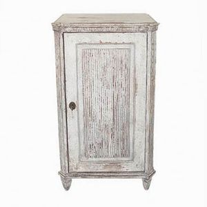 Antique Swedish Gustavian Bedside Cabinet