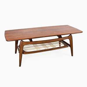 Coffee Table in Teak by Louis van Teeffelen for WéBé, 1960s