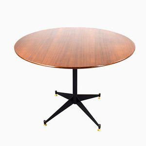 Italian Circular Dining Table, 1960s