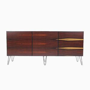 Upcycled Palisander Cocobolo Sideboard from Omann Jun, 1960s