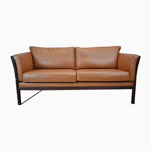 Mid-Century Leather Sofa, 1970s