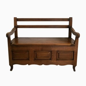 Antique Children's Bench & Chest in Solid Wood