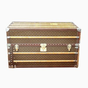 Large French Trunk with Secret Drawers from Louis Vuitton, 1930s