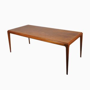 Teak Coffee Table by Severin Hansen for Haslev Møbelsnedkeri, 1950s