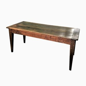 Antique French Walnut Dining Table