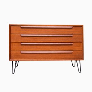 German Teak Chest of Drawers by WK Möbel, 1960s