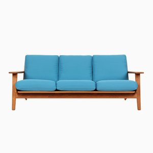 GE290 3-Seater Sofa by Hans J. Wegner for Getama, 1950s
