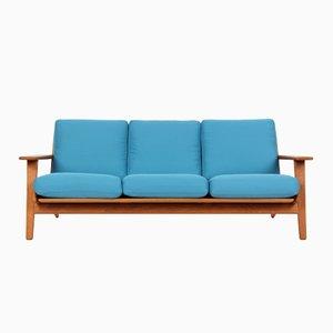 GE290 3-Sitzer Sofa von Hans J. Wegner für Getama, 1950er