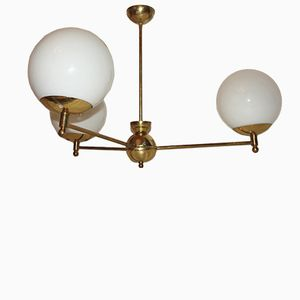 Brass Chandelier, 1960s