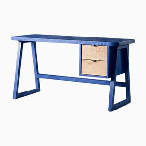 Schreibtisch 47 in Blau von Alon Dodo