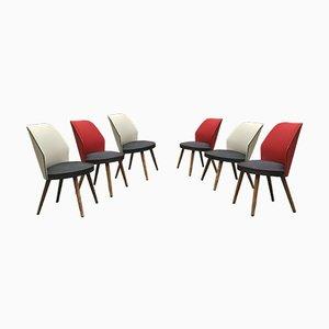 Danish Side Chairs, 1960s, Set of 6