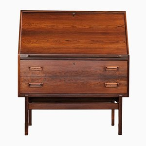 Model 68 Rosewood Secretaire by Arne Wahl Iversen for Vinde Møbelfabrik, 1950s