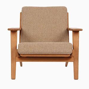 Vintage Danish GE 290 Easy Chair by Hans J. Wegner for Getama