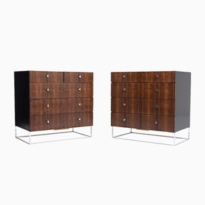 Mid-Century Bachelor's Chests, 1960s, Set of 2