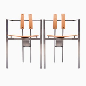 Chaises Trix Chairs par Karl Friedrich Förster pour KFF, 1980s, set de 2