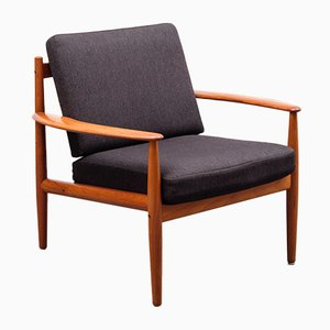Danish Armchair by Grete Jalk for France & Søn, 1960s