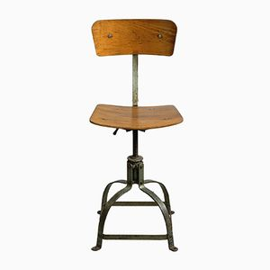 Model 204 Architect's Chair from Bienaise, 1950s