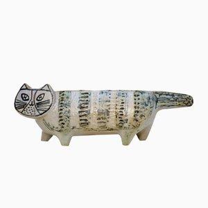 Steingut Katze von Lisa Larson für Gustavsberg, 1950er