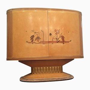 Italian Art Deco Bar Cabinet from Galleria Mobili d'Arte Cantù, 1940s