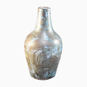 Französische Vintage Keramik Vase von Jacques Blin